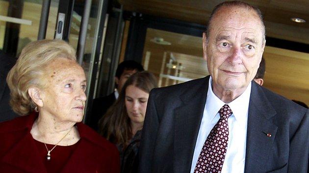 Bernadette a Jacques Chiracovi