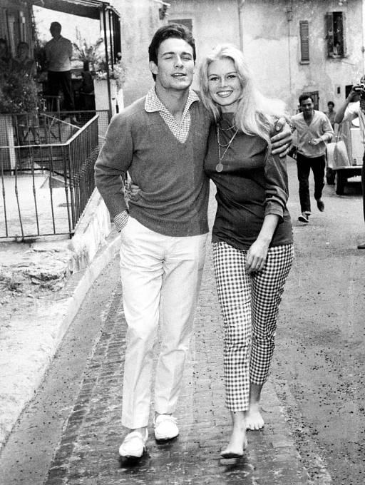 Jacques Charrier aBrigitte. Manželství vydrželo tři roky.