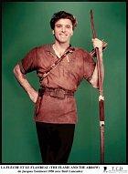 37 let: Ne, to není Robin Hood. Film Oheň ašíp (1950) se odehrával vItálii.