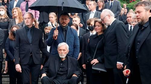 Pohřeb Libuše Šafránkové
