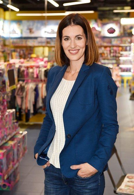 Lucie Křížková se vrátila do práce, aby přišla na jiné myšlenky.