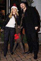 Bohuš Matuš a přítelkyně Nikola o Vánocích