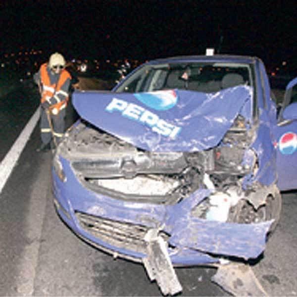 Dopravní nehoda mezi Mostem a Litvínovem