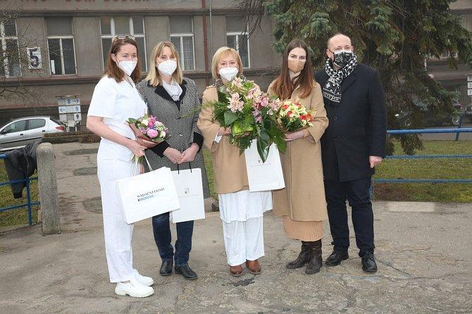 Kateřina Zemanová převzala tatínkovi povinnosti týkající se Nadačního fondu prezidenta republiky.