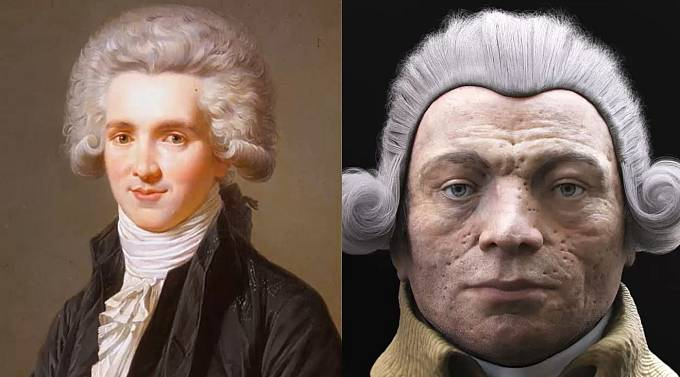 Maxmilien Robespierre, jeden z hlavních vůdců francouzské revoluce.