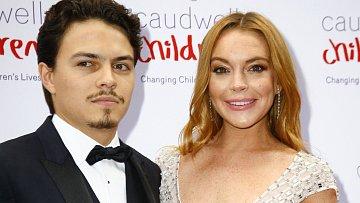 Egor Tarabasov a Lindsay Lohanová