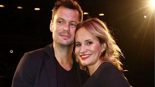 Monika s partnerem Tomášem Hornou.