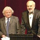 Zakladatelé divadla Ladislav Smolijak (vlevo) a Zdeněk Svěrák