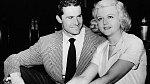 Sdruhým manželem Peterem Shawem vroce 1949