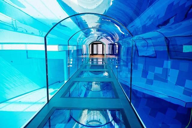 Dubajský bazén předstihl i dříve nejhlubší bazén světa, polský DeepSpot.