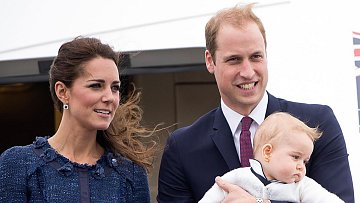 Kate a William s prvorozeným synem
