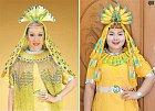 Exotického outfitu dosáhnete i tak, že ho vytvoříte z banánů.