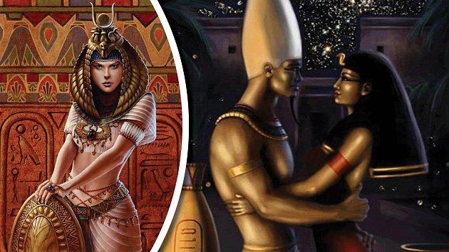 Isis si vzala bratra Osirise. A to zdaleka není konec perverzní historky.
