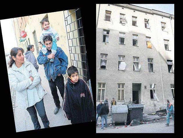 Nájemníci nevědí, co s nimi bude. Hasiči museli evakuovat z domu čtyři desítky lidí.