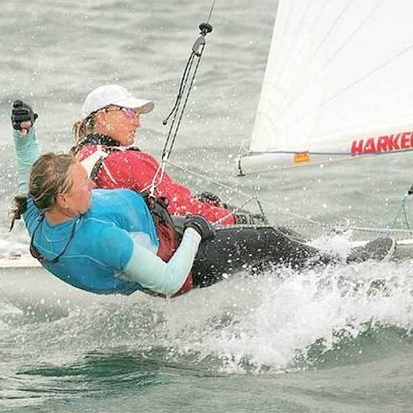 Šmídová i Mrzílková se stále zlepšují a plachty jim možná nadouvá medailový vítr.