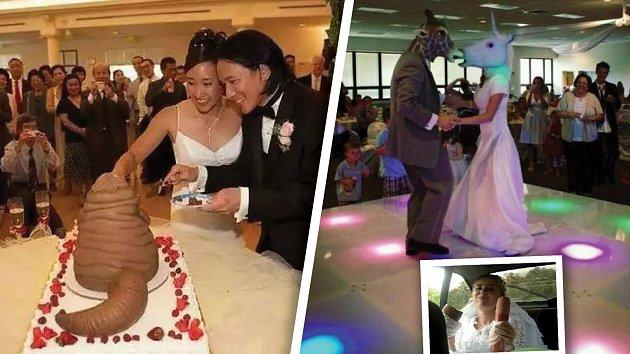 Svatba může být i taková, že byste na ni raději rychle zapomněli!