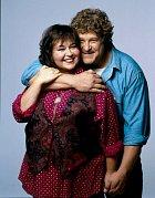 Vseriálu Roseanne byl jejím manželem John Goodman.