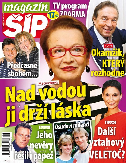 Titulní strana Magazínu Šíp 2.3.2016