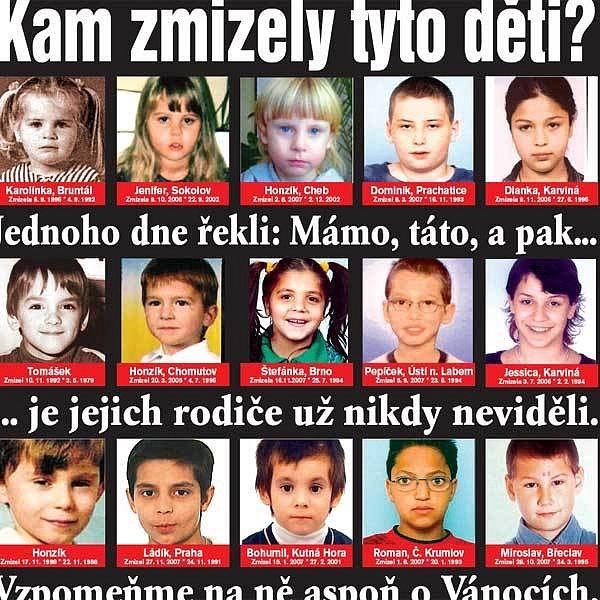 Děti, které rodičům zmizely beze stopy.