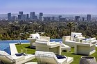 Z vily je 270 stupňový výhled na Los Angeles.