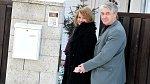 Vztah s Rychtářem prezentovala zpěvačka jako šťastný.