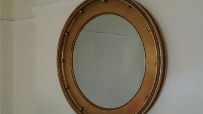 Za zrcadlem se skrývalo děsivé překvapení