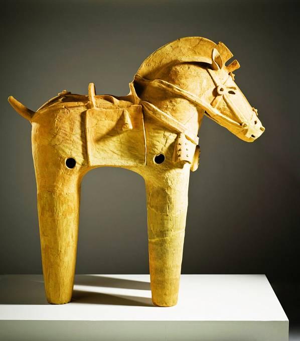 Vkofunách se našla řada uměleckých předmětů.