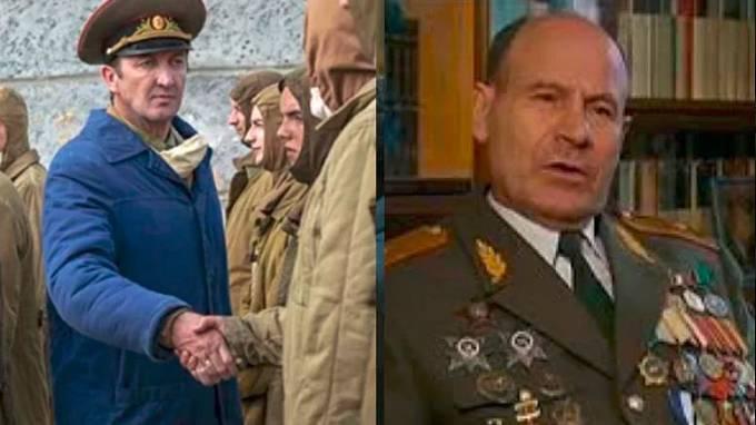 Ralph Ineson jako Generál Nikolai Tarakanov, vedoucí černobylských likvidátorů