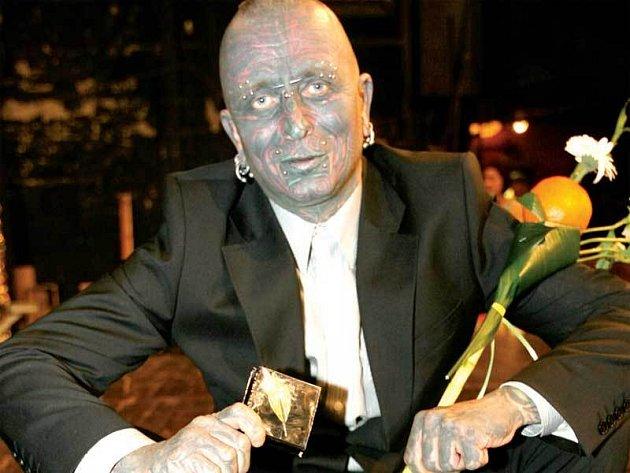 Skladatel Vladimír Franz přebíral cenu Alfréda Radoka i loni.