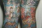 Detail tetování