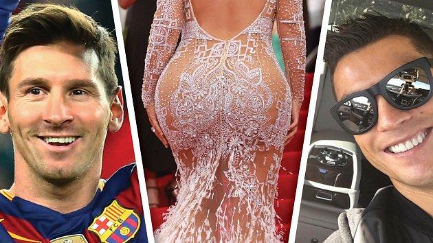 Tyto tři celebrity lidé ve světě v roce 2015 nejvíc googlovali. Poznáte tu prostřední?
