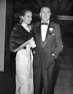 Grace Kelly se svým otcem Johnem