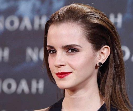 Čtvrté místo má Emma Watson.