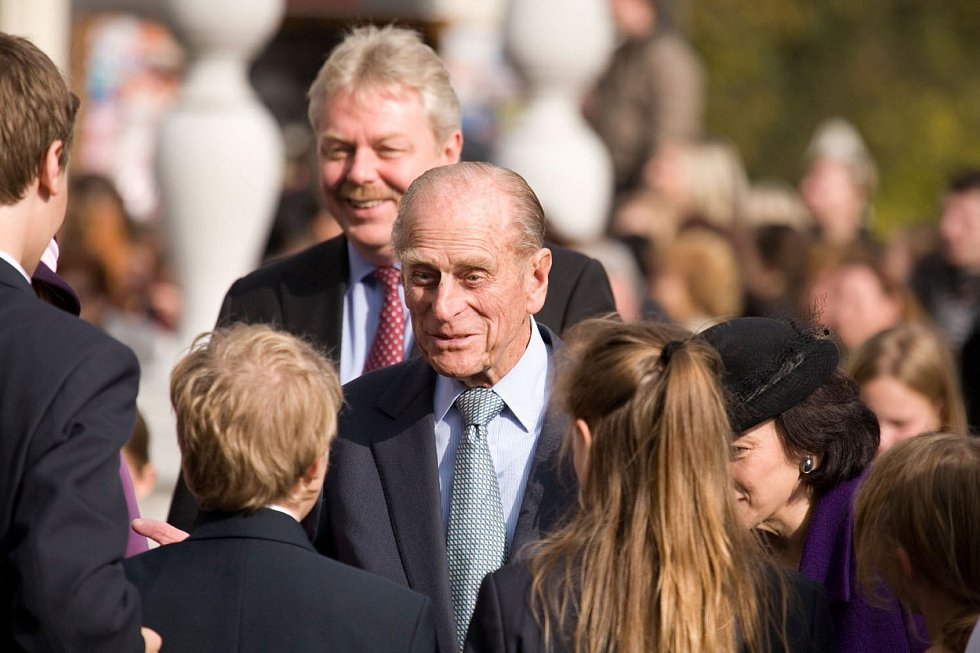 Princ Philip se dlouho zúčastňoval oficiálních akcí.