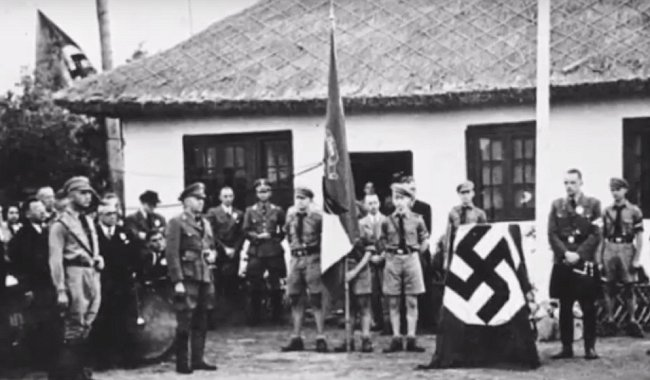 Výjezd Hitlerjugend do Číny.