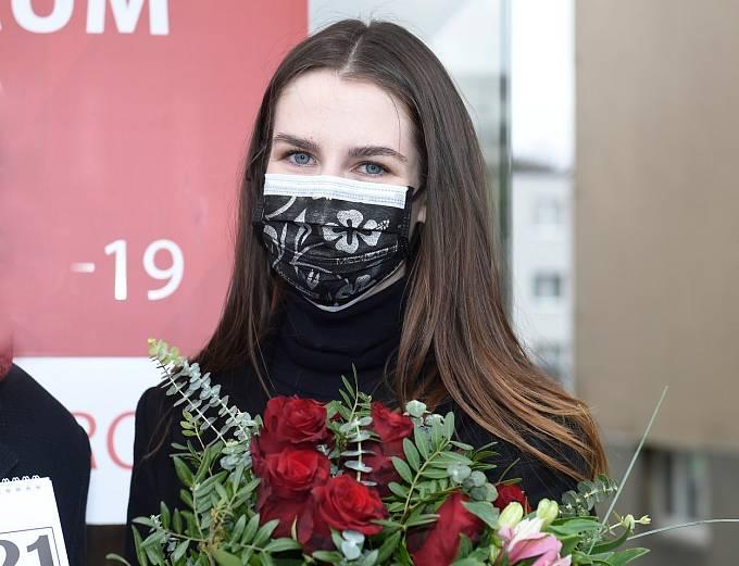 Kateřina Zemanová je součástí projektu Anděl mezi zdravotníky.