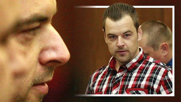 Petr Kramný před soudem.