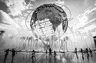 Newyorská fontána Unisphere.