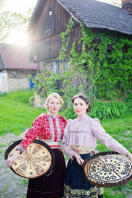 Linda Rybová a Kateřina Winterová vpořadu Herbář