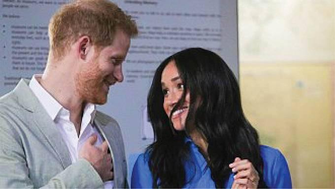 Princ Harry a Meghan.