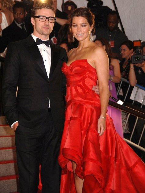 Justin Timberlake a Jessica Biel jsou krásný pár.