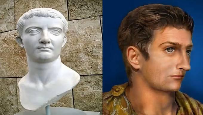 Římský císař Tiberius proslul mnohým, vypadal asi takto.