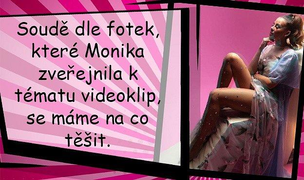 Monika Bagárová vydává nový videoklip Offline. Ukáže vněm sexy nožky.