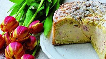 Domácí jarní dortík