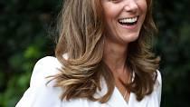 Karolínu Plíškovou při finále Wimbledonu sledovala i vévodkyně Kate.