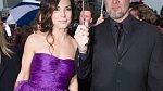 Sandra Bullock a Jesse James.