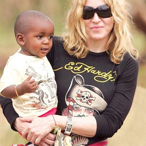 Malou Mercy si Madonna vyhlédla už loni. Domu si ji ale neodveze.