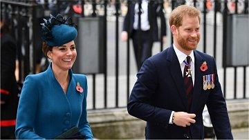 vévodkyně Kate, princ Harry