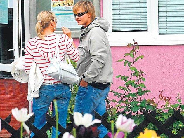 Lucie Borhyová a Petr Pik