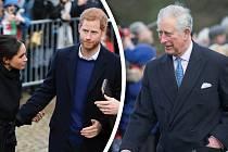 Harry a jeho snoubenka začínají být z Charlesova chování poněkud otrávení...